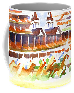 Churchill Downs Watercolor Coffee Mug