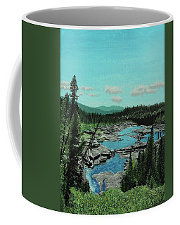 Churchill River Coffee Mug