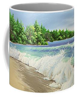 Churning Sand  Coffee Mug