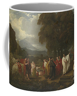 Cicero Discovering The Tomb Of Archimedes Coffee Mug