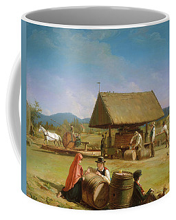 Coffee Mug featuring the painting Cider Making                                  by William Sidney Mount