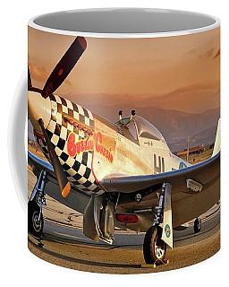 Cielos Llcs P-51 Mustang Buzzin Cuzzin  44-84735 Version 2 Coffee Mug