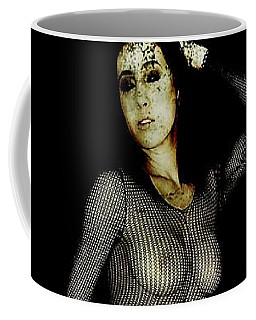 Coffee Mug featuring the digital art Ciena 1 by Mark Baranowski