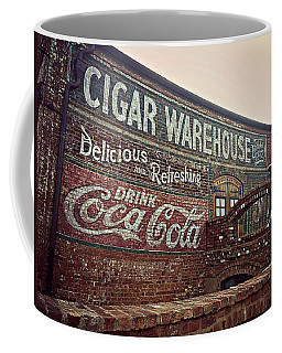 Cigar Warehouse Greenville Sc Coffee Mug by Kathy Barney