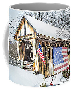 Cilleyville Bog Bridge Covered Bridge New Hampshire Coffee Mug