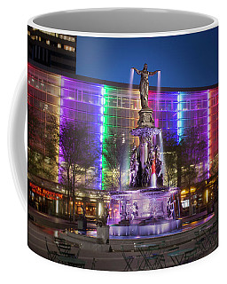Cincinnati Fountain Square Coffee Mug by Scott Meyer