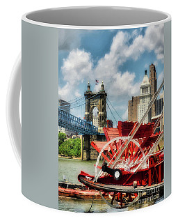Coffee Mug featuring the photograph Cincinnati Landmarks 1 by Mel Steinhauer
