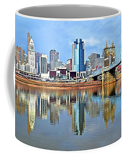 Cincinnati Ohio Times Two Coffee Mug