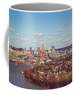 Cincinnati Skyline 2 Coffee Mug by Scott Meyer