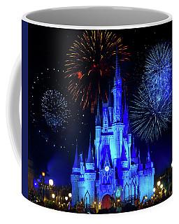 Cinderella Castle Fireworks Coffee Mug