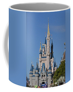 Cinderella's Castle Coffee Mug by Carol  Bradley