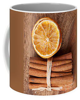 Cinnamon And Orange Coffee Mug