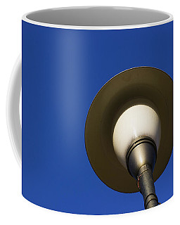 Coffee Mug featuring the photograph Circle And Blues by Prakash Ghai