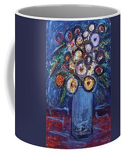 Circle Of Flowers Coffee Mug