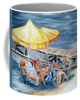 Circle Of Friends Coffee Mug by Donna Tuten