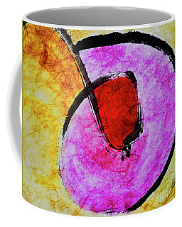 Coffee Mug featuring the painting Circle Of Life by Joan Reese