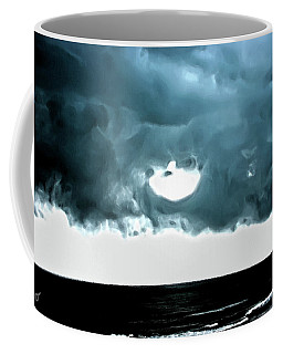 Circle Of Storm Clouds Coffee Mug