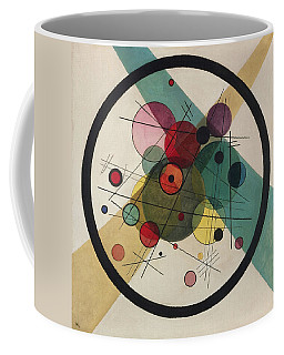 Circles In A Circle Coffee Mug by Wassily Kandinsky
