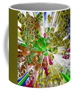 Circles In Perspective 3 Coffee Mug