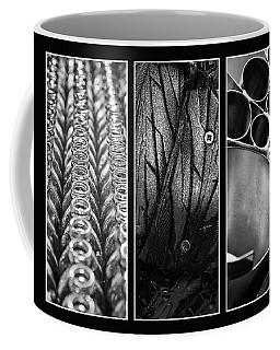 Circles Triptych Coffee Mug
