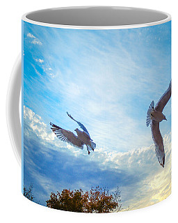 Circling Wings  Coffee Mug