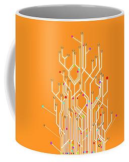 Circuit Board Graphic Coffee Mug