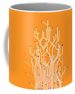 Circuit Board Graphic Coffee Mug