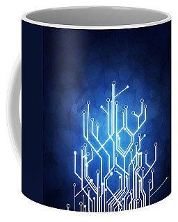 Circuit Board Technology Coffee Mug