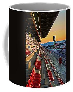 Circuit De Catalunya - Barcelona  Coffee Mug by Juergen Weiss