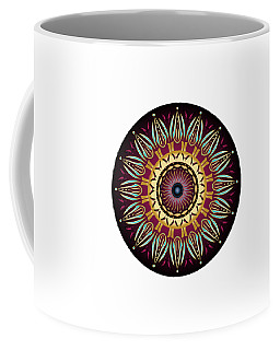 Circularium No 2639 Coffee Mug by Alan Bennington