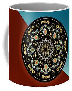Circularium No 2640 Coffee Mug by Alan Bennington