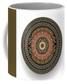 Circularium No 2645 Coffee Mug by Alan Bennington