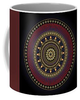 Circularium No 2649 Coffee Mug by Alan Bennington