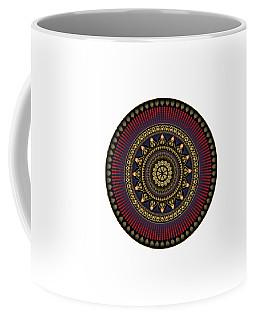 Circularium No 2650 Coffee Mug by Alan Bennington