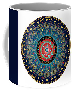 Circularium No 2661 Coffee Mug by Alan Bennington