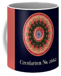 Circularium No 2662 Coffee Mug by Alan Bennington