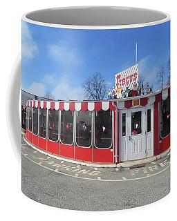 Coffee Mug featuring the photograph Circus Drive In by Melinda Saminski