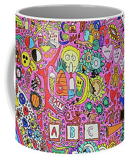 Circus Moon Coffee Mug