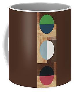 Cirkel Trio- Art By Linda Woods Coffee Mug