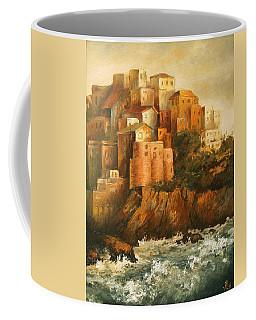Cinque Terre Lerici Italia Painting Coffee Mug