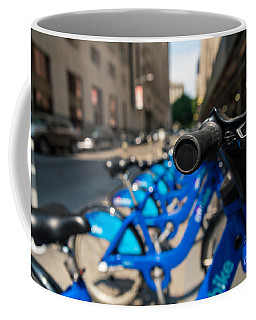 Citibike Handle Manhattan Color Coffee Mug