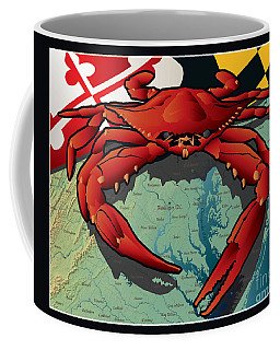 Citizen Crab Of Maryland Coffee Mug