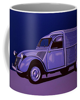 Citroen 2cv Azu 1957 Painting Coffee Mug