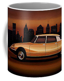 Citroen Ds 1955 Painting Coffee Mug