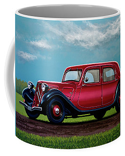 Citroen Traction Avant 1934 Painting Coffee Mug