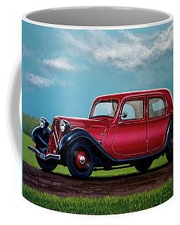 Citroen Traction Avant 1934 Painting Coffee Mug