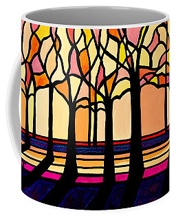 Citrus Glass Trees Coffee Mug