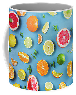 Citrus Summer Coffee Mug