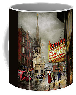 City - Amsterdam Ny - Life Begins 1941 Coffee Mug