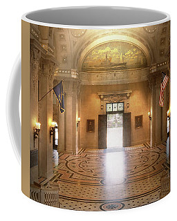 Coffee Mug featuring the photograph City - Annapolis Md - Bancroft Hall by Mike Savad